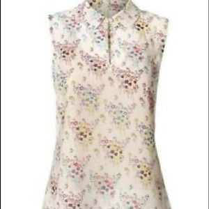 CAbi Floral Essential Blouse Style #5535